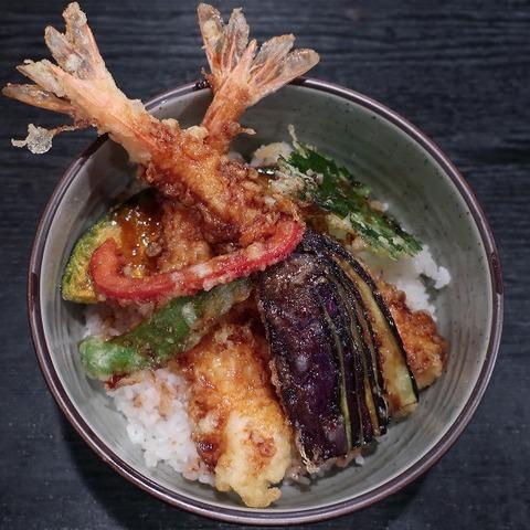 天丼(蕎麦季)1150