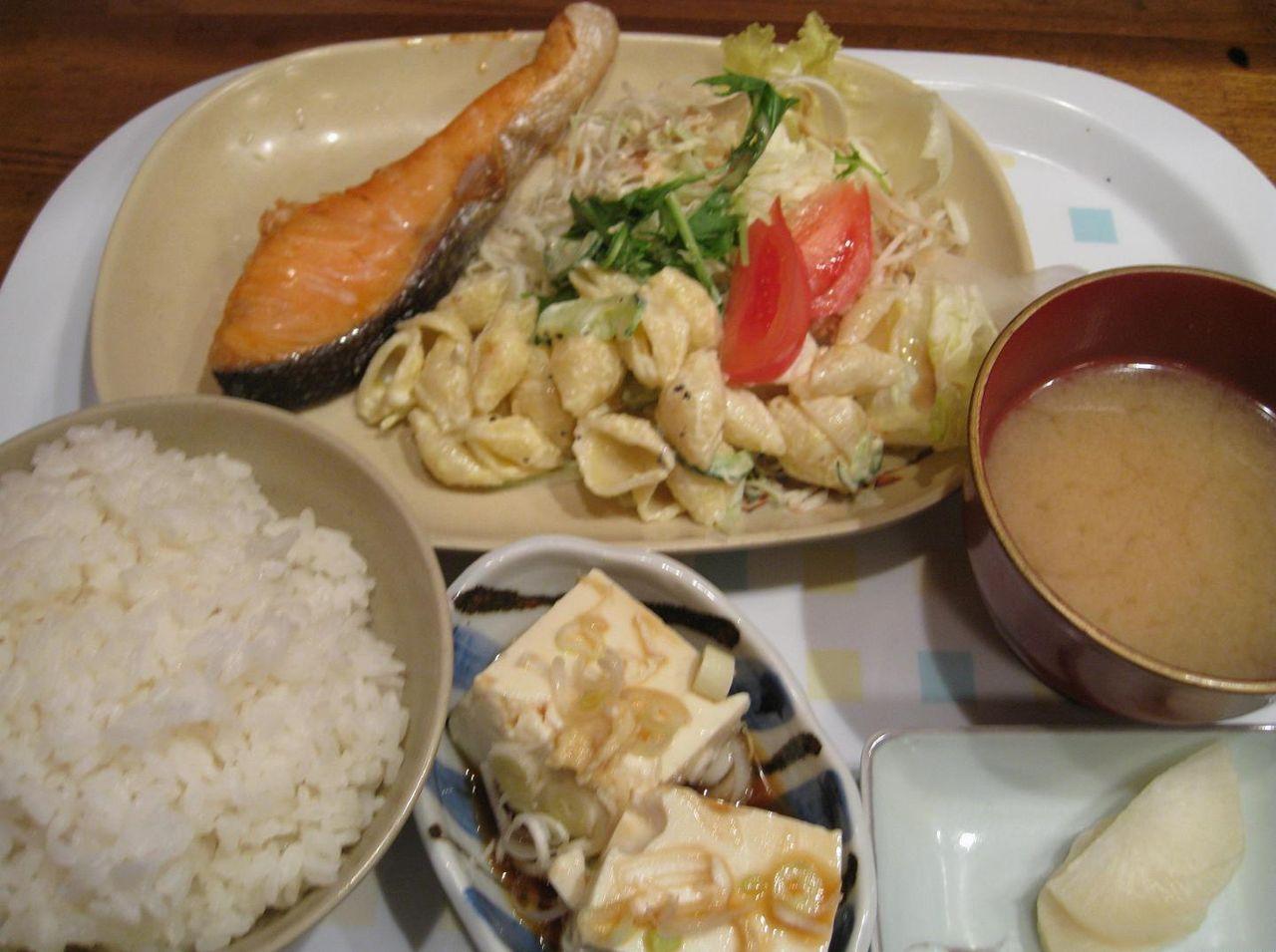 鮭塩焼定食