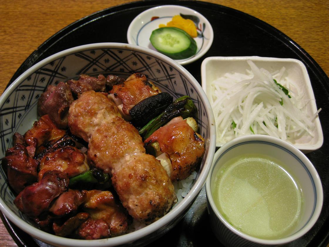焼鳥丼+2本