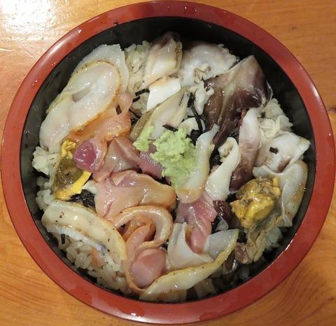 貝類丼(美好寿司)950