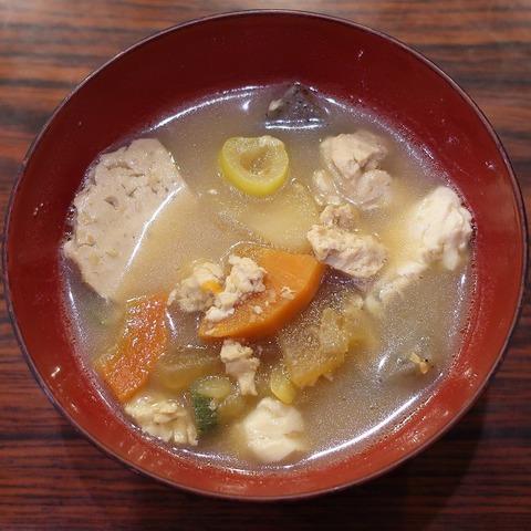 味噌汁(草結)