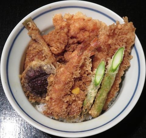 特製天丼(天一)3888