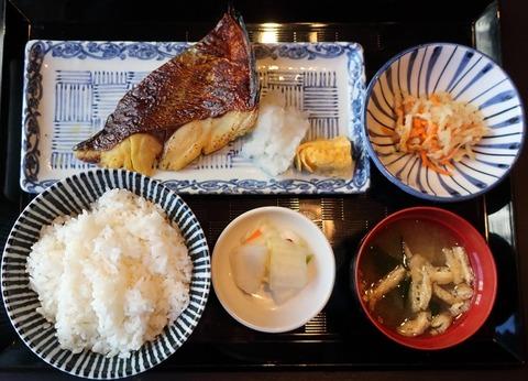 焼魚御膳(百干)1200