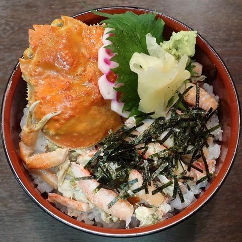 香箱蟹丼(澤ノ屋)1620