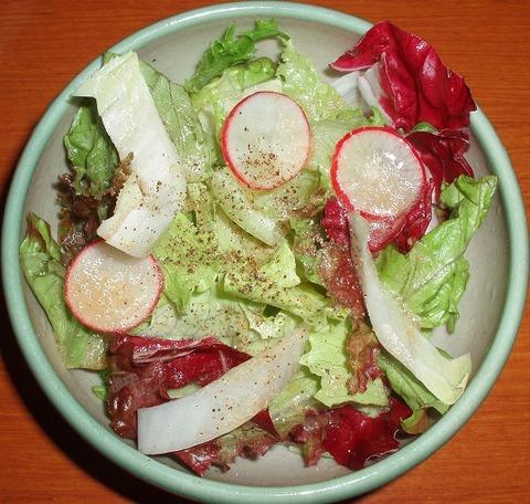 サラダ(雪月花)