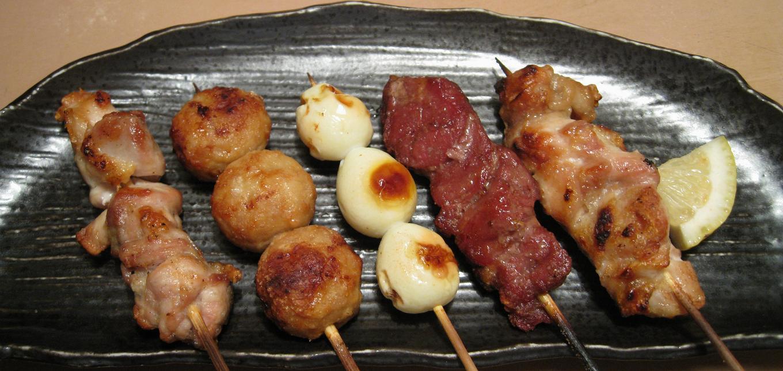 串盛り5本(塩)