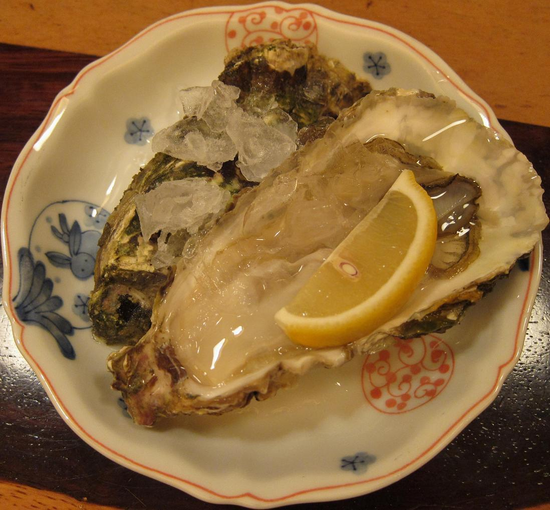 岩手山田湾殻牡蠣
