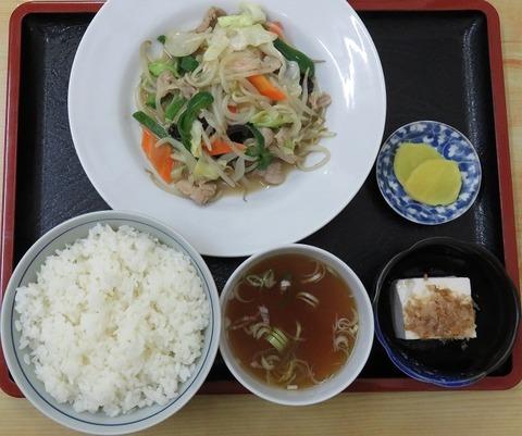 野菜炒め定食