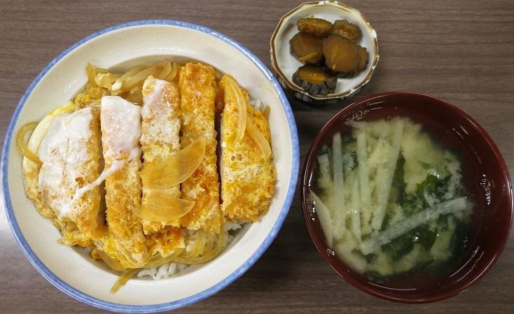 カツ丼(並)+味噌汁