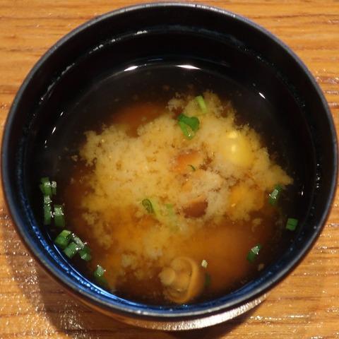 味噌汁(聖せき亭)