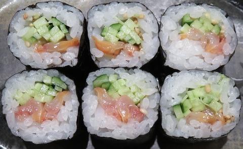ひもきゅう巻(一寿司)