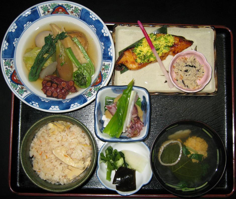 春野菜定食