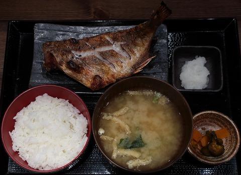 あこう鯛干物定食(しんぱち)910