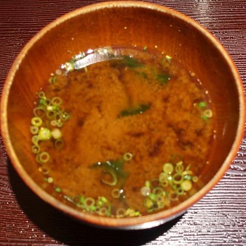 味噌汁(ひでや)