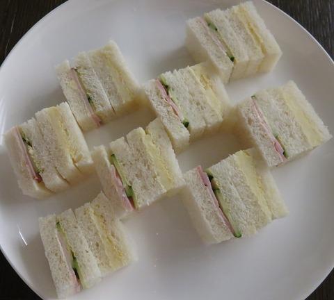 ティータイムサンドイッチ(石渡紅茶)570