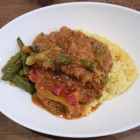 南印度風野菜マサラカリー(レインボウスパイス)920