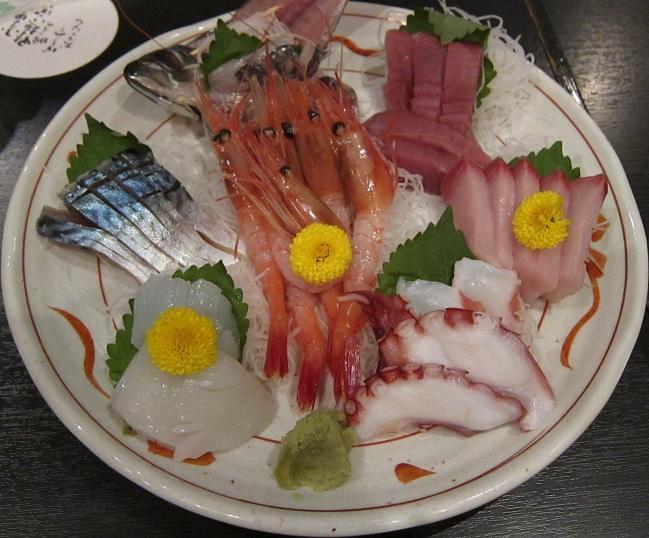 旬の魚七点盛り