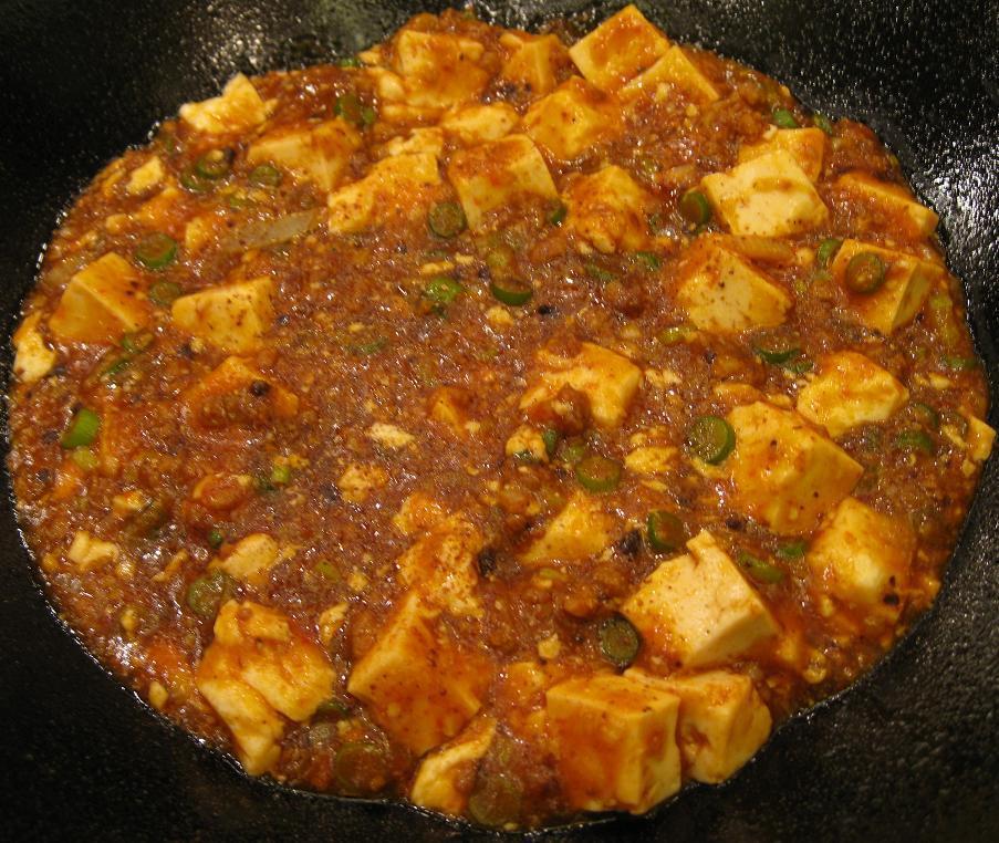 四川辛口麻婆豆腐