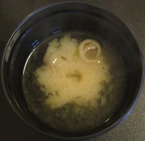 味噌汁(いろり家)