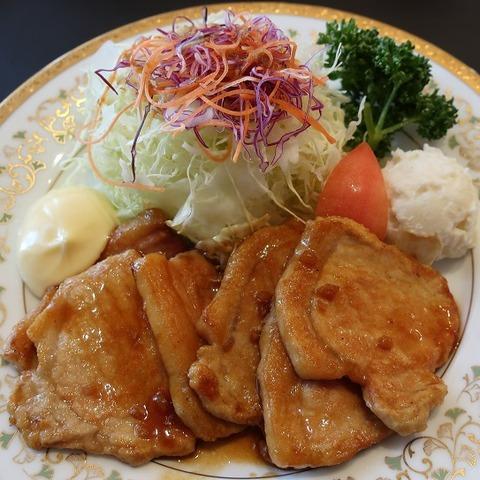 生姜焼定食(オークラ)1580