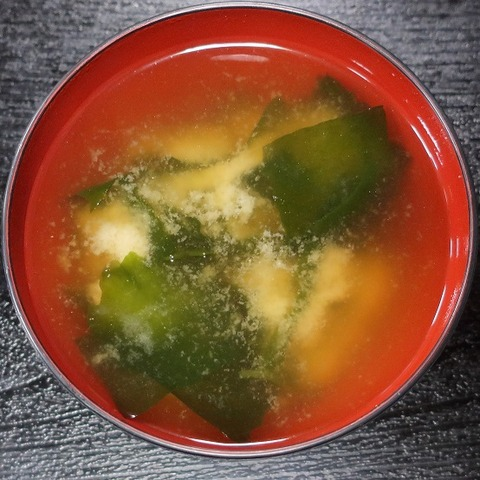味噌汁(秋月)