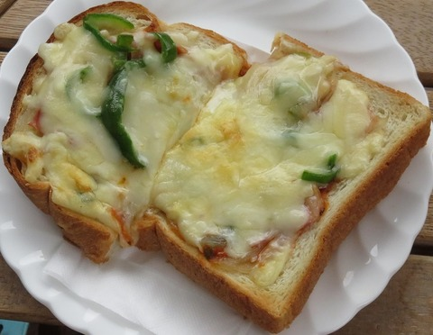 ピザトースト(もりのうた)430