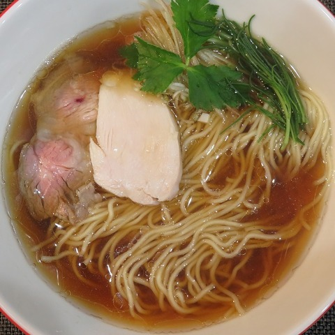 赤青醤油らぁ麺(赤青)880