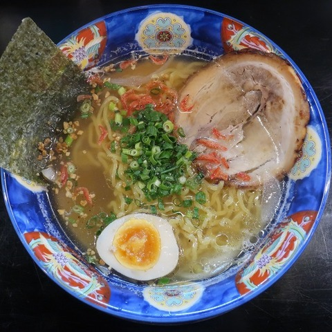魚介系和風らーめん(味源)750