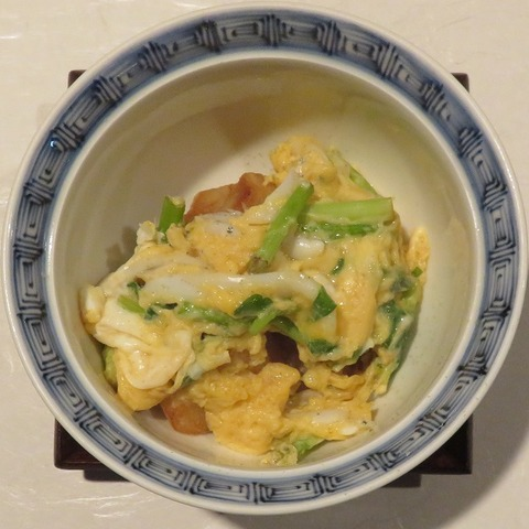 里芋と白魚玉子とじ(紋屋)800