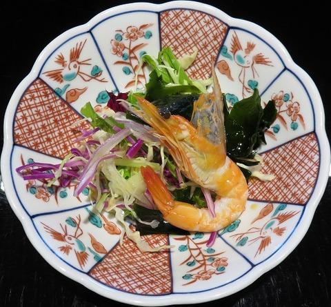 能登野菜サラダ(信寿し)