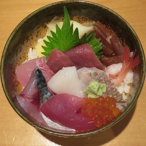 海鮮丼(たかはし)1500