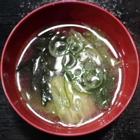 野菜スープ(俺ん家)
