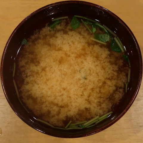 味噌汁(結い)