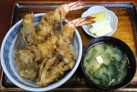 上天丼(更科甚五郎)1600