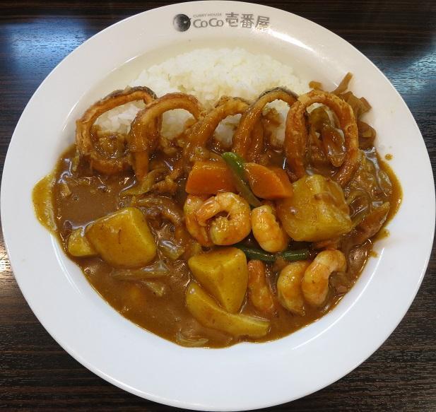 野菜+エビ+イカ