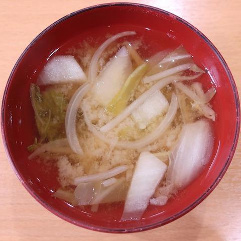 味噌汁(ていしょく亭)