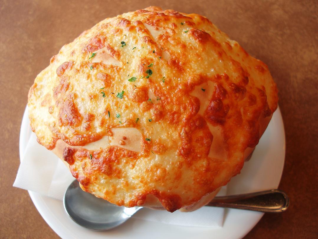 """ピザ屋さんのスープ""""クラムチャウダー"""""""
