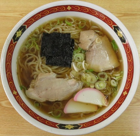 中華そば(東京庵)600