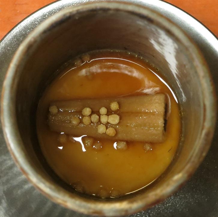 穴子茶碗蒸し
