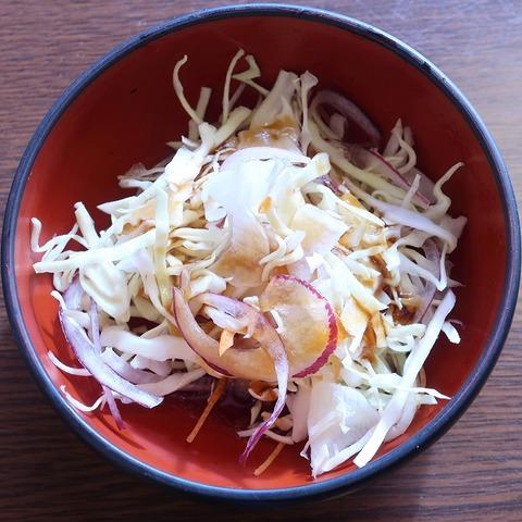 サラダ(鮨松)