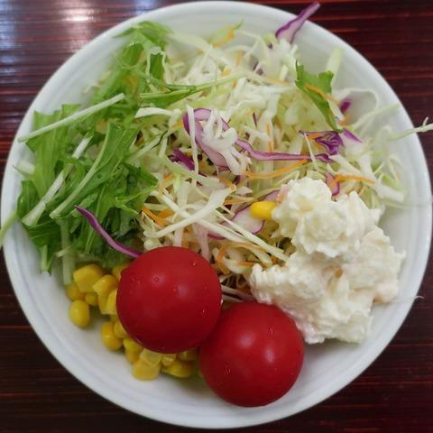 サラダ(孔雀)