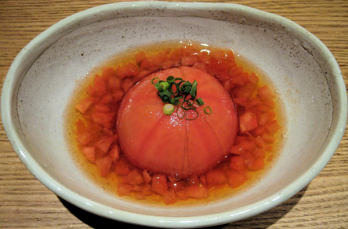 トマトの御浸し