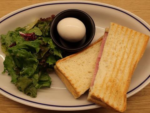 ハムチーズサンドプレート(エクセルシオールカフェ)250