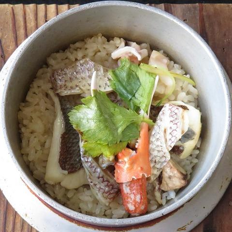 シーフード釜飯(五色)1188