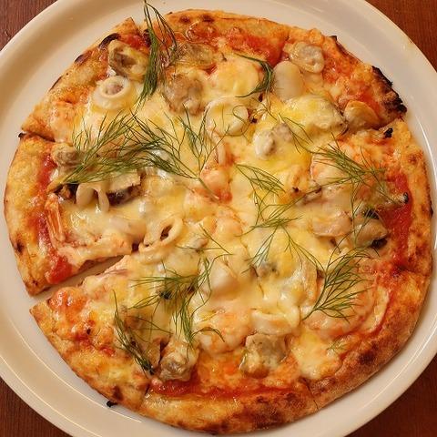 シーフードピザ(マリー)1480