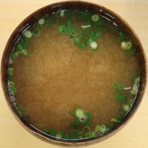 味噌汁(錦寿司)