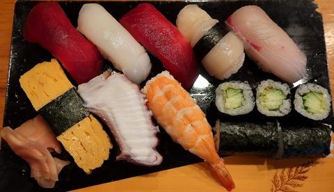 にぎり大盛(幸寿司)1100