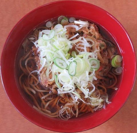 野菜天ぷらそば(水戸そば)430