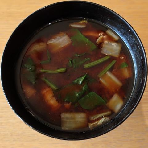 味噌汁(和田倉)