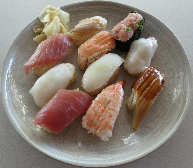 にぎり寿司Bアップ
